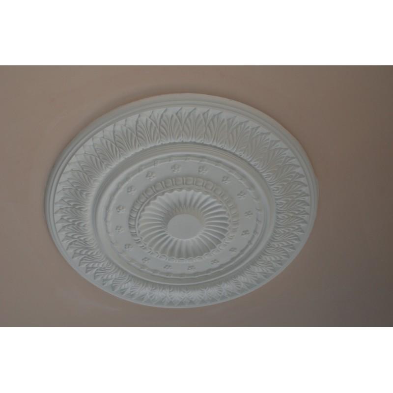 Rosace r615 gypsum art for Rosace plafond platre