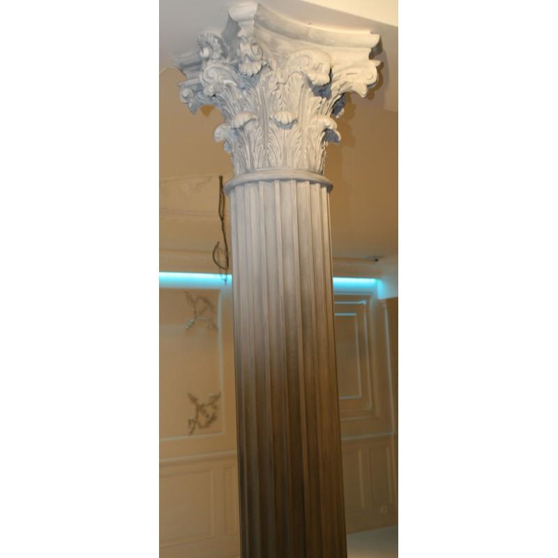 colonne f t cannel ref col917 gypsum art. Black Bedroom Furniture Sets. Home Design Ideas