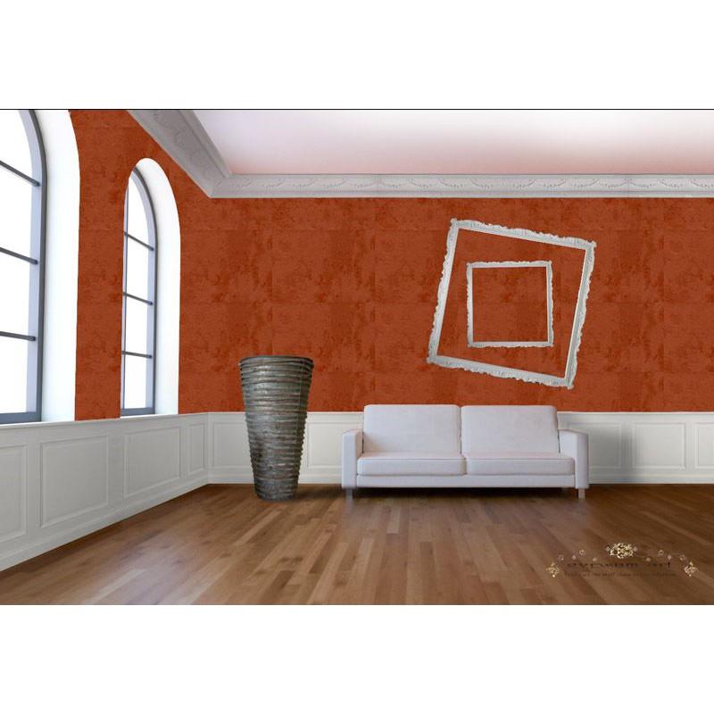 Peinture etnika cuivre effet chaux dans les tons rouge for Peinture radiateur couleur cuivre