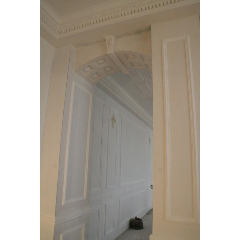 moulure ref m55 gypsum art. Black Bedroom Furniture Sets. Home Design Ideas