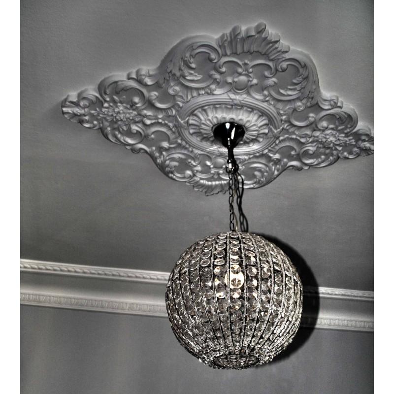 Rosace r619 gypsum art for Rosace plafond platre