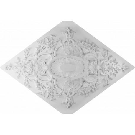 Rosace r631 rosace a encastrer gypsum art for Rosace plafond platre