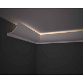 Corniche éclairage  Ref CE290 dim 12x12cm long 2..00