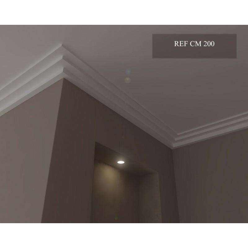 corniche moderne ref cm200 dim 8 x 15 5. Black Bedroom Furniture Sets. Home Design Ideas