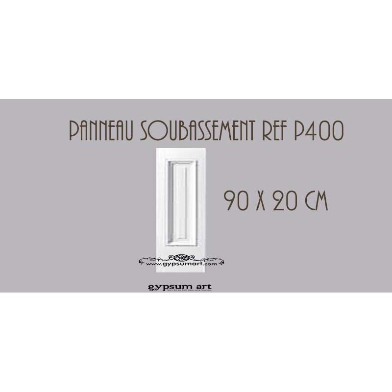 Panneautage Mural Ref P400 90 Cm X 20cm Gypsum Art