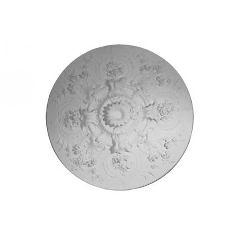 Rosace r608 gypsum art for Rosace plafond platre