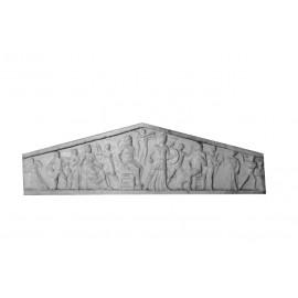 Bas relief fronton greco-romain gm