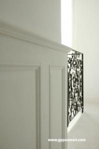 histoire de la d coration pl tre et staff gypsum art. Black Bedroom Furniture Sets. Home Design Ideas