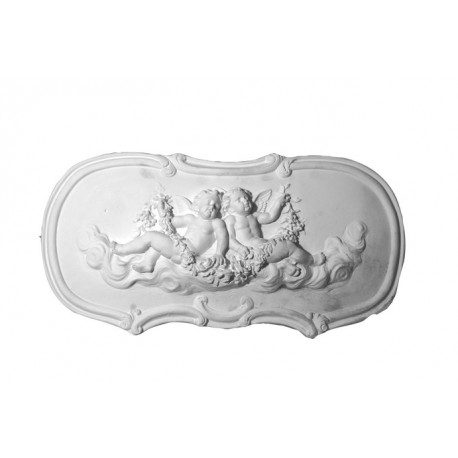 Bas relief ange