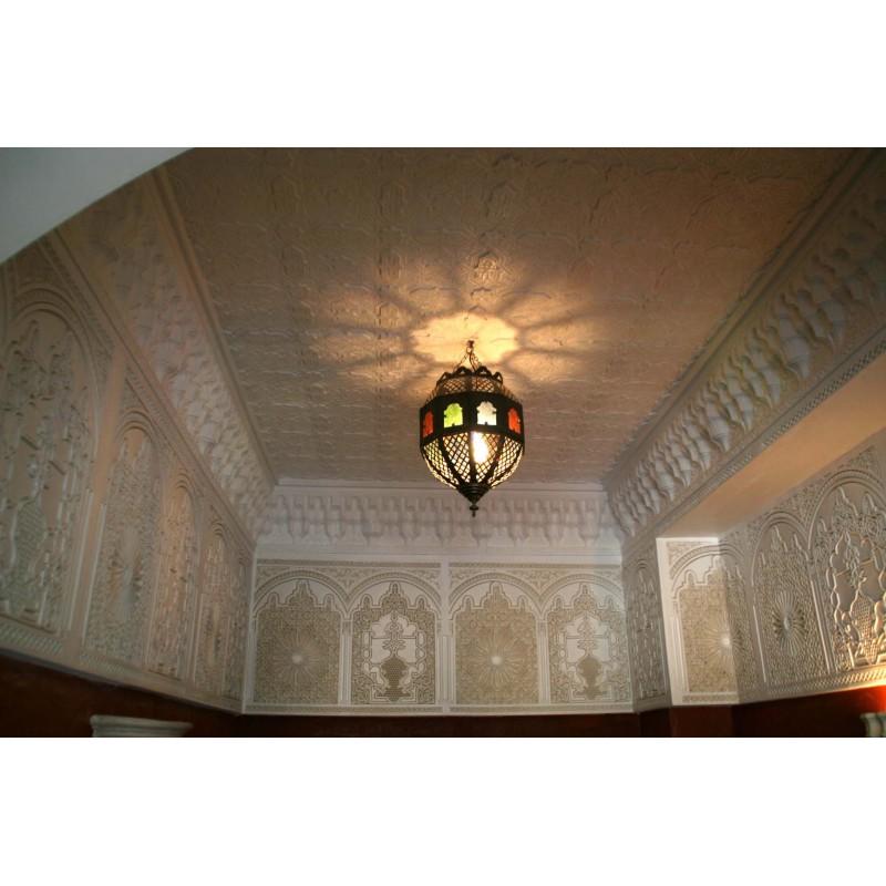 corniche de style oriental en pl tre d co maroc. Black Bedroom Furniture Sets. Home Design Ideas
