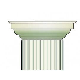 Demi chapiteau colonne - Ref:COL930