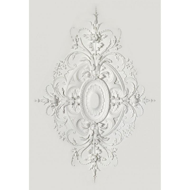 Rosace r625 a encastrer dim 137 5 x 95 cm gypsum art for Rosace plafond platre
