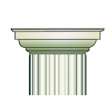 Demi chapiteau colonne - Ref:COL931