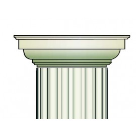 Demi chapiteau colonne - Ref:COL933