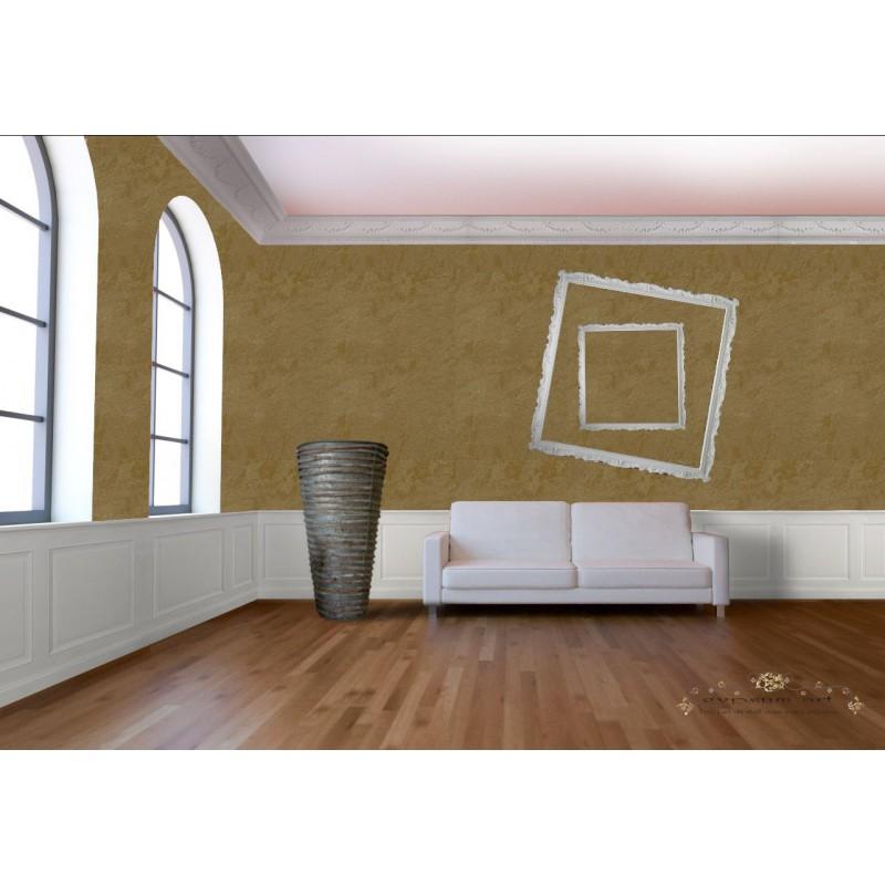 Peinture etnika or antique effet chaux dans les tons or for Deco chambre etats unis