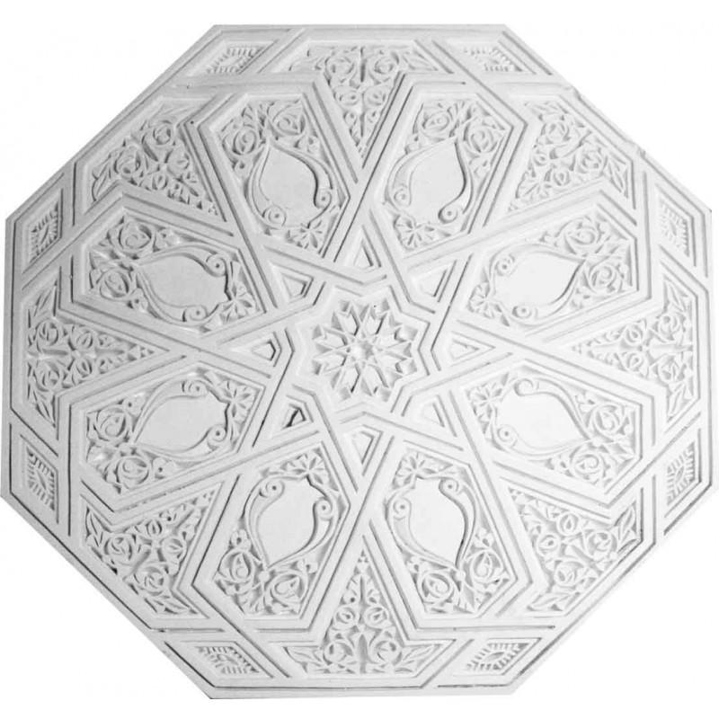 rosace mauresque r661 diam 64 cm gypsum art. Black Bedroom Furniture Sets. Home Design Ideas