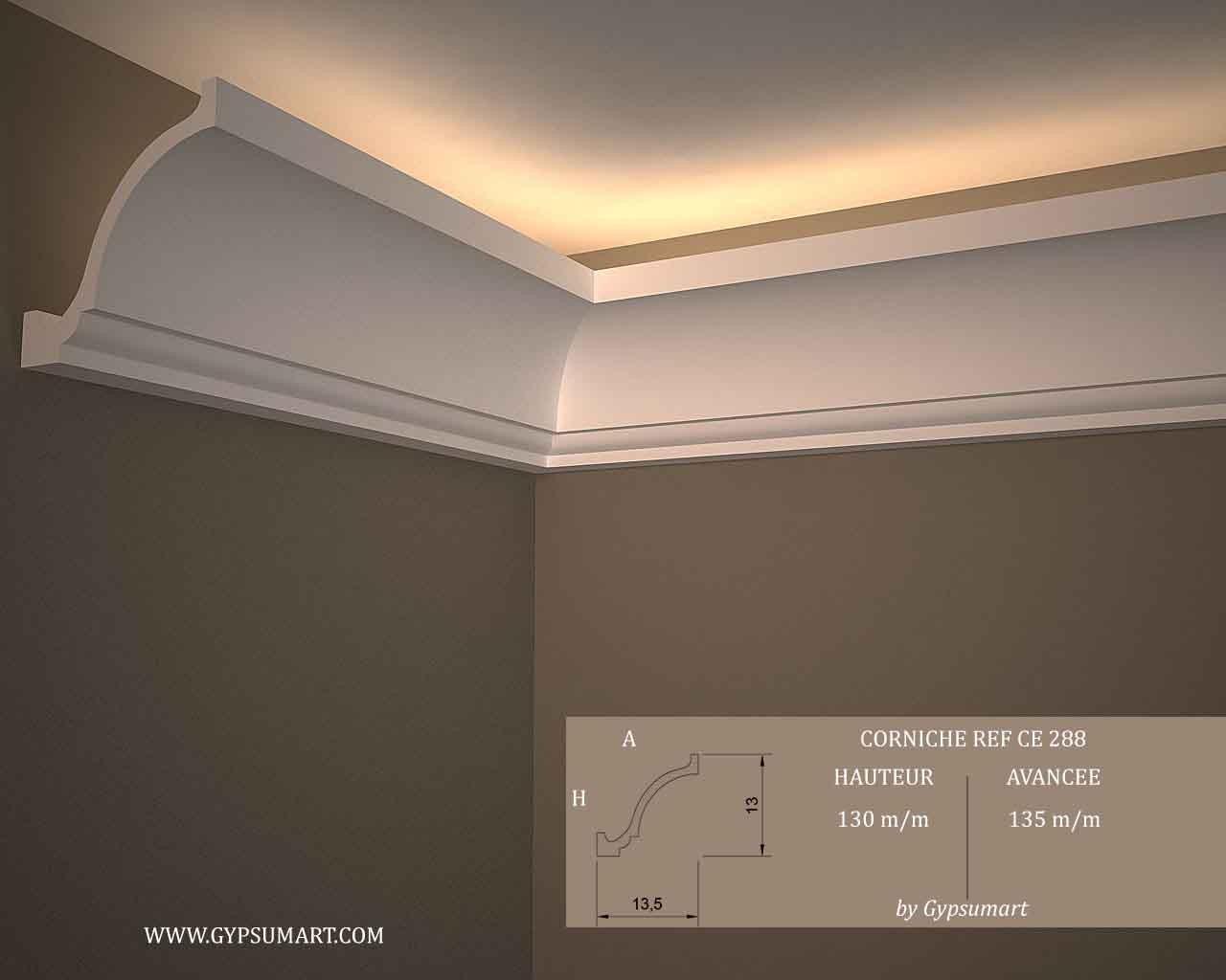 Décoration De Plafond En Platre concernant décoration murale et plafond | vente en ligne corniches, moulures