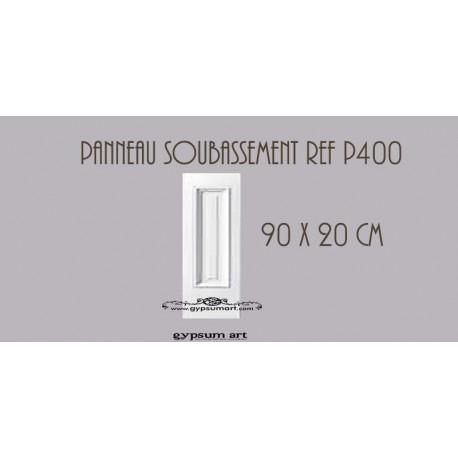 PANNEAUTAGE MURAL  - Ref:P400  90 cm x 20cm