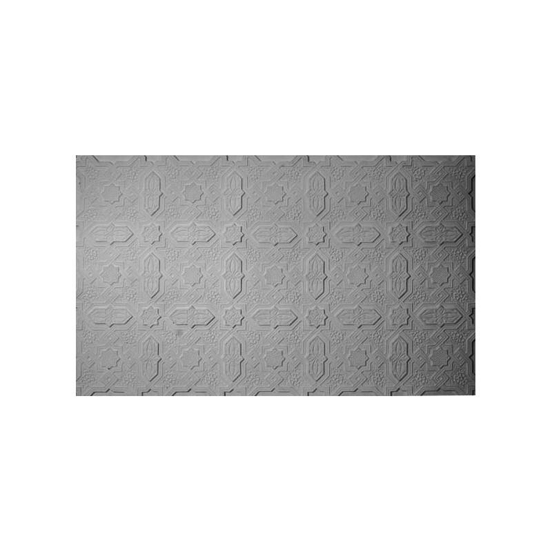 bas relief mauresque plafond 120 x 72 cm ref b528 gypsum art. Black Bedroom Furniture Sets. Home Design Ideas