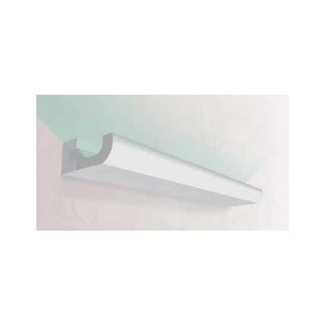 Corniche éclairage 4 x 8,5 cm : EF284