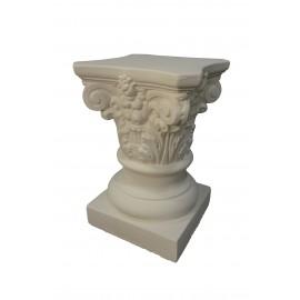 Chapiteau stèle ref: COL974 dim: 25 x 17 x 17 cm