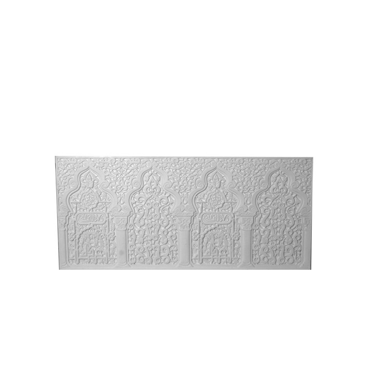 Bas relief mauresque mural gypsum art for Bas relief mural