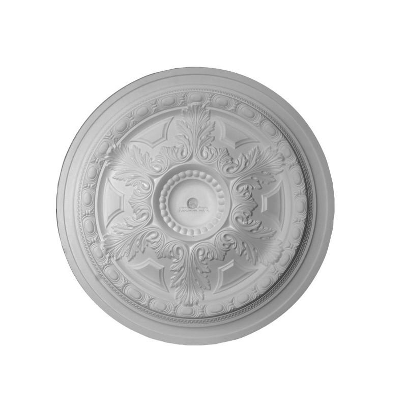 Rosace r612 gypsum art for Rosace plafond platre