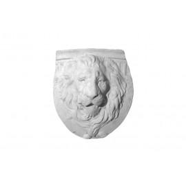 Bas relief tête de lions