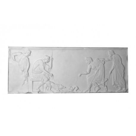 Bas relief jeux grec