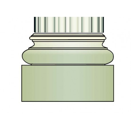 Demi base colonne - Ref:COL942