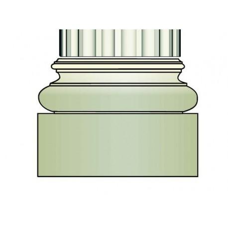 Demi base colonne - Ref:COL947