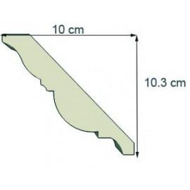 Corniche doucine Ref cd103 dim 10 x 10.3