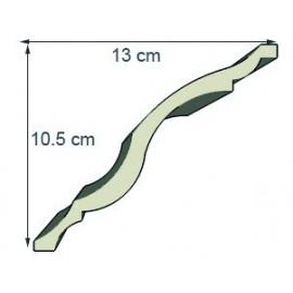 Corniche doucine Ref cd105 dim 12 x 11.8