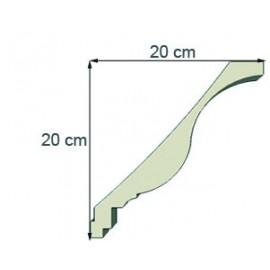 Corniche doucine Ref cd114 dim 20 x 20