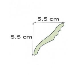 Corniche denticule Ref cde225 dim 5.5 x5.6