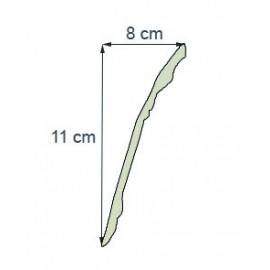 Corniche moderne Ref cm198 dim 11 x8