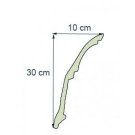 Corniche moderne Ref cm199 dim30 x 10