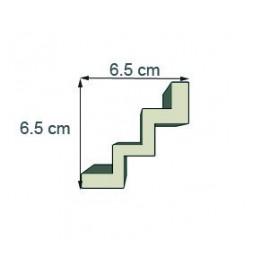 Corniche moderne Ref cm201dim 6.5x6.5