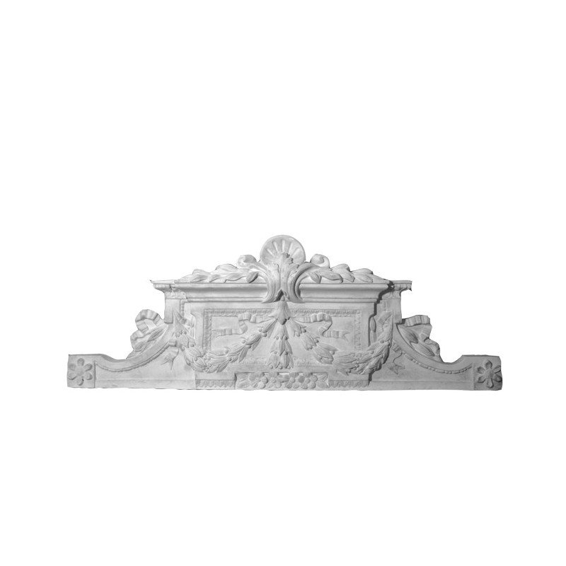 bas relief dessus de porte de style 120 x 44 cm ref b506. Black Bedroom Furniture Sets. Home Design Ideas