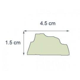 Moulure Ref m01 dim 4.5 x 1.4