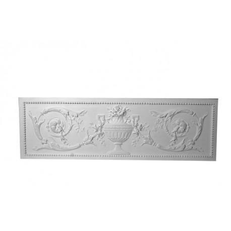 bas relief dessus de porte 100 x 32 ref b507 gypsum art. Black Bedroom Furniture Sets. Home Design Ideas