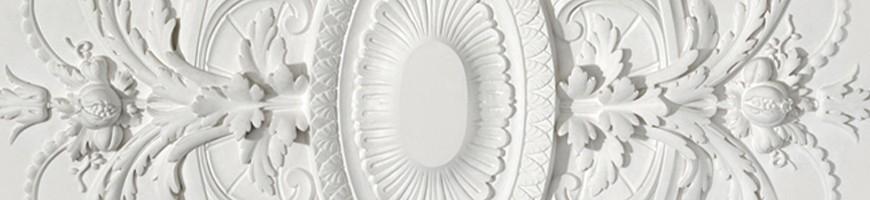 Rosace plafond en plâtre - Vente en ligne, large choix